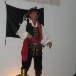 Not long afterwards, a pirate appears