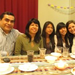 With Juan, Rosario, Maria and Jimena
