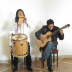 Amaru and fellow band member Percy introduce us to Andean music