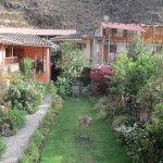 Waking up in Ollantaytambo