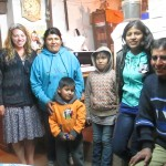 Mia with members of her host family (from left): Aracela, Michel, Camila, Anamaria and Americo