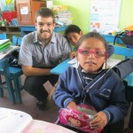 English is a third language for most of the students, after Quechua (their mother tongue) and Spanish