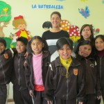 Anna with Senora Fanny and the members of her class