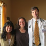 With Juana and Dr. Nathan