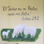 """The Lord is my shepherd, I shall not want"" (Psalm 23:1)"