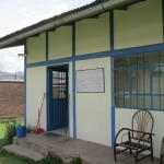The reception area at La Fuente Clinic