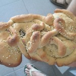 Andrea made this Tantawawa (baby bread), a traditional November treat