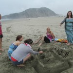 Another sand castle creation