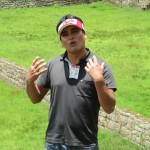 Our guide, Hector, introduces us to the site