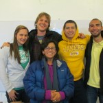 "The ""Costa"" (Coast) class, with their instructor Luz"