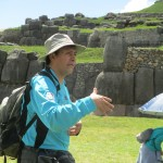 Our guide, Oswaldo, introduces us to Sacsayhuaman