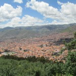 "View of the city of Cusco -- the Incas referred to their capital as the ""Navel of the World"""