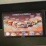 A Whopper Combo offers North American flavors for 14.90 nuevos soles, close to $6 at today's exchange rate