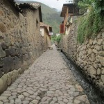 The streets and water canals of Ollantaytambo were built to last