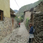 Back in the village of Ollantaytambo