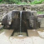 The Inca's bath