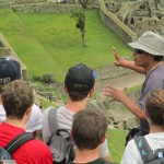 Our guide, Oswaldo, introduces us to a place he knows well