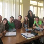 Ana and the members of the Selva (Rainforest) Spanish Class
