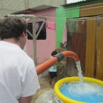 Filling another swimming pool