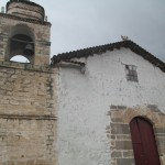 The church on the plaza in Quinua where the generals fighting for independence gathered on the morning of the final battle