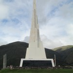 Just above the village is a large obelisk built in the 1970s to commemorate the battle fought here for Peru's independence