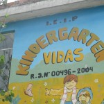 Vidas Kindergarten (Lives Preschool) is located in a very poor section of Huamanga