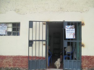 Vidas Clinic in San Melchor, a humble neighborhood that sits at the edge of Huamanga, Ayacucho's capital city