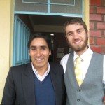 With Dionicio, the new director of the Apostle Paul School