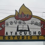 The entrance to Apostle Paul School