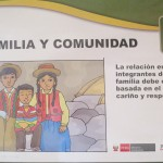 """Family and Community:  Relations between members of the family should be based in love, care and respect"""