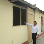 Elizabeth, one of the school's founders and Isaac's host mother, is extremely pleased with his work
