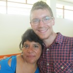 With Consuelo, the lead teacher for a group of younger children