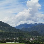 The city of San Ramon -- elevation 770 meters (about 2,500 feet) above sea level -- sits at the foot of the Andes Mountains