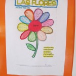 """Flowers"" -- in the mornings the children do art and other projects"
