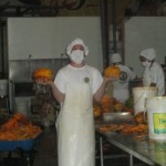 Alex works in production -- each day brings a new fruit and, along with it, new products