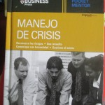 "Or how about this title, ""Crisis Management,"" courtesy of the Harvard Business School?"