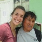 With Liliana, one of the teachers that Emma assists