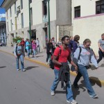 Our tour begins in downtown Cusco