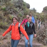 Heading down the mountain toward the village of Pisac
