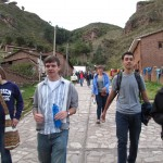 Arrival in the town of Pisac