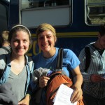 Arrival at the Ollantaytambo Train Station
