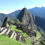 First sighting of Machu Picchu -- Old Peak in Quechua