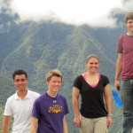 On top of Huayna Picchu