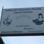 Promesa School -- we have lectures, workshops and Spanish classes here each day