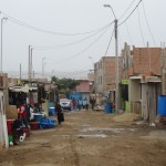 This neighborhood is called Chavin de Huantar -- it is part of the district of Villa El Salvador