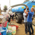Using funds provided by a donor, we are giving the water away