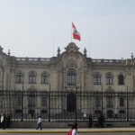 The Presidential Palace, residence of Peru's current executive Ollanta Humala