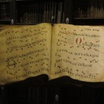 A hymnal used for Gregorian chants