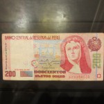 Her image now adorns Peru's largest-denomination bill, worth 200 nuevos soles