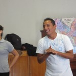 Pedro and his dance partner, Lisette, introduce the students to dances from the coast, rain forest and mountains